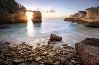 Cabo Rojo Arch Sunset